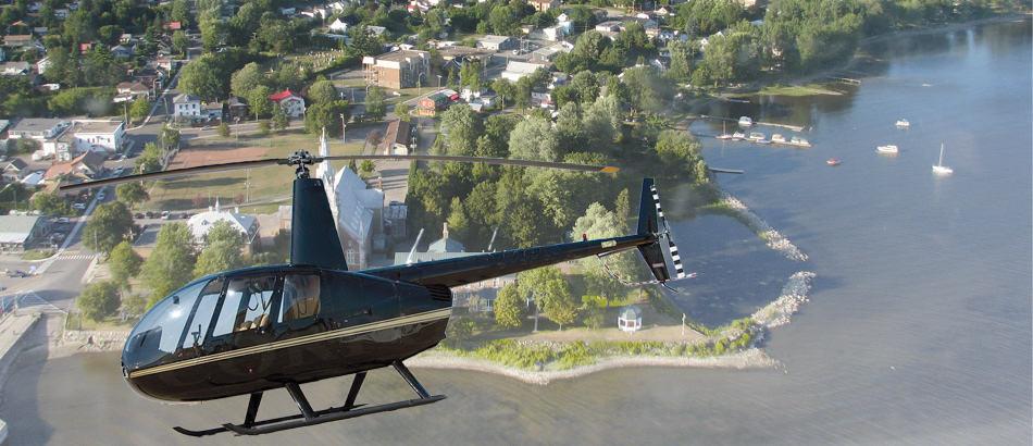 Tour d'hélicoptère Gestion Hélico